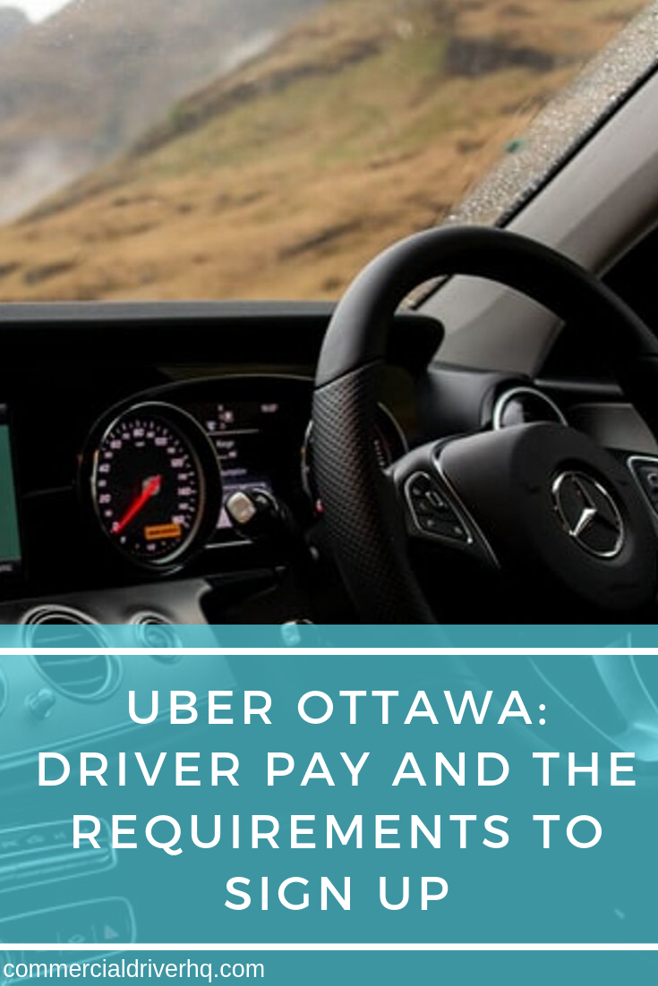 Uber Ottawa Driver Pay And The Requirements To Sign Up Uber Car