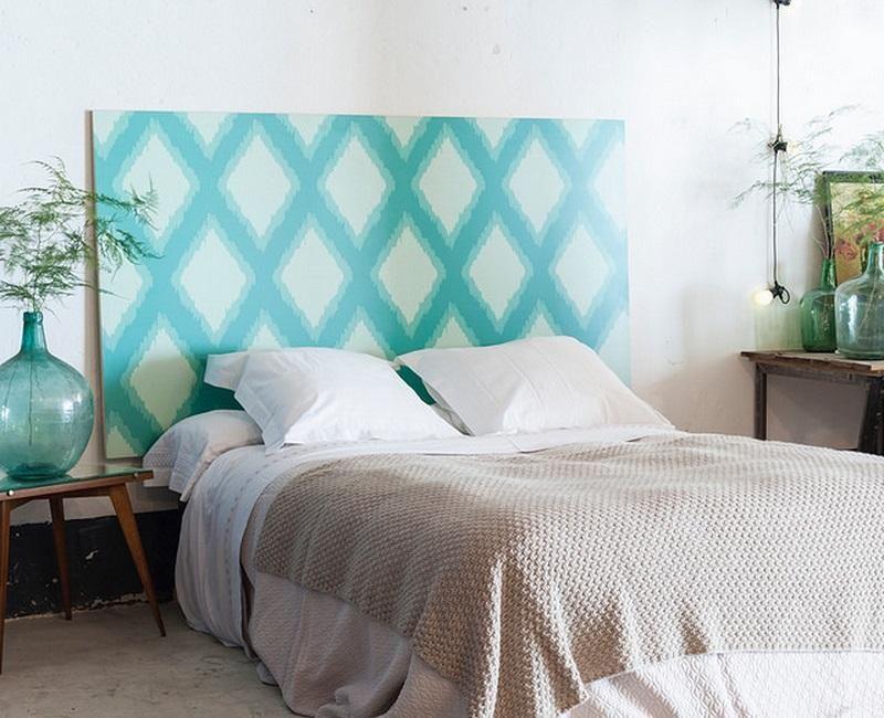Ideas para hacer cabeceros originales y baratos - Cabeceros de cama originales pintados ...