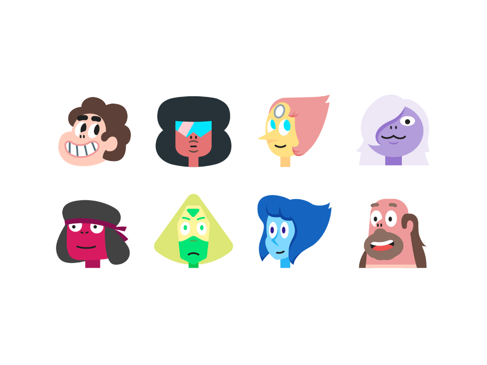 Steven Universe In Color Style Best Icons Steven Universe Icon