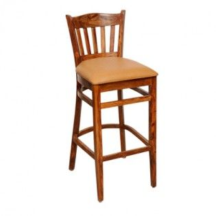 Buy Zarra Bar Chair Teak Finish Online In India Bar Stool