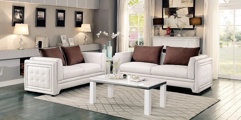 Off White Sofa Set