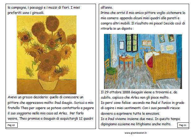 Arte Per I Bambini Libro Storia Van Gogh Pdf Libro Pdf Libretto