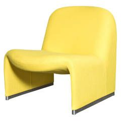 Best Piretti Alky Lounge Chair By Castelli In Yellow Chair 400 x 300