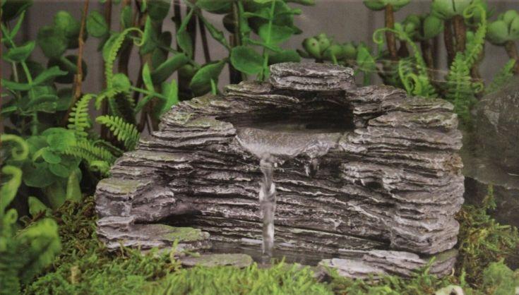 Fairy Garden Granite Grotto Fountain ~ Available On Amazon Via JoySavor  Http://joysavor