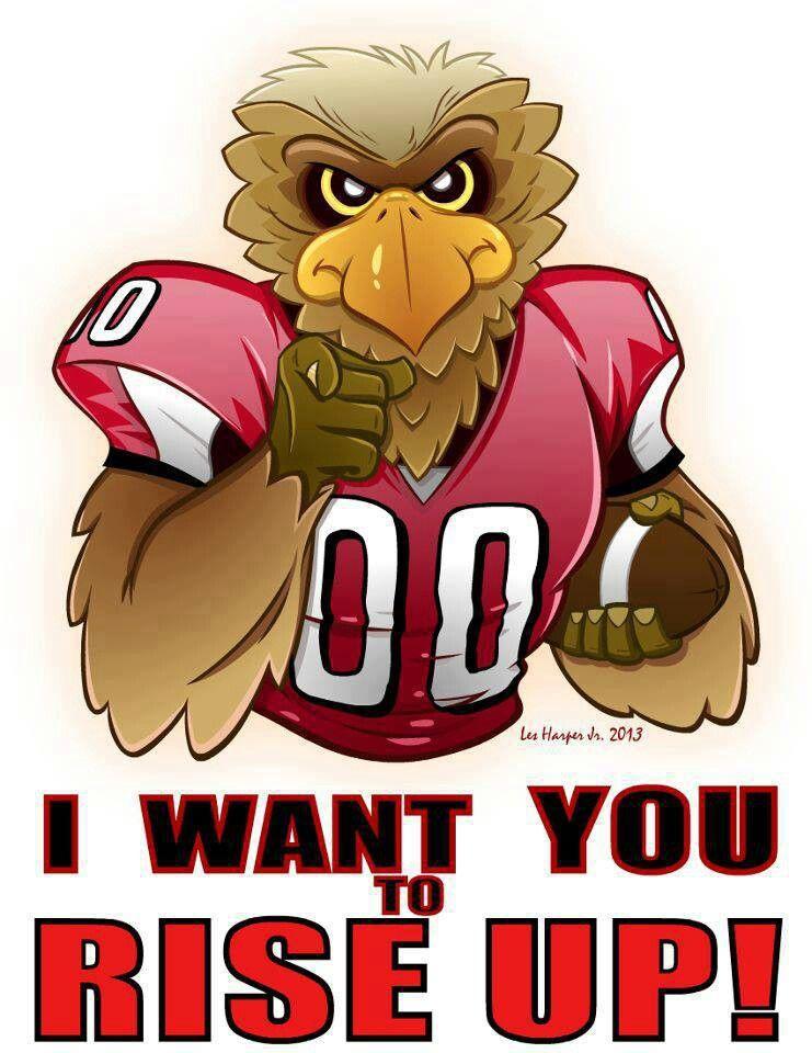 Cartoon Falcon Atlanta Falcons Atlanta Falcons Football Atlanta Falcons Art