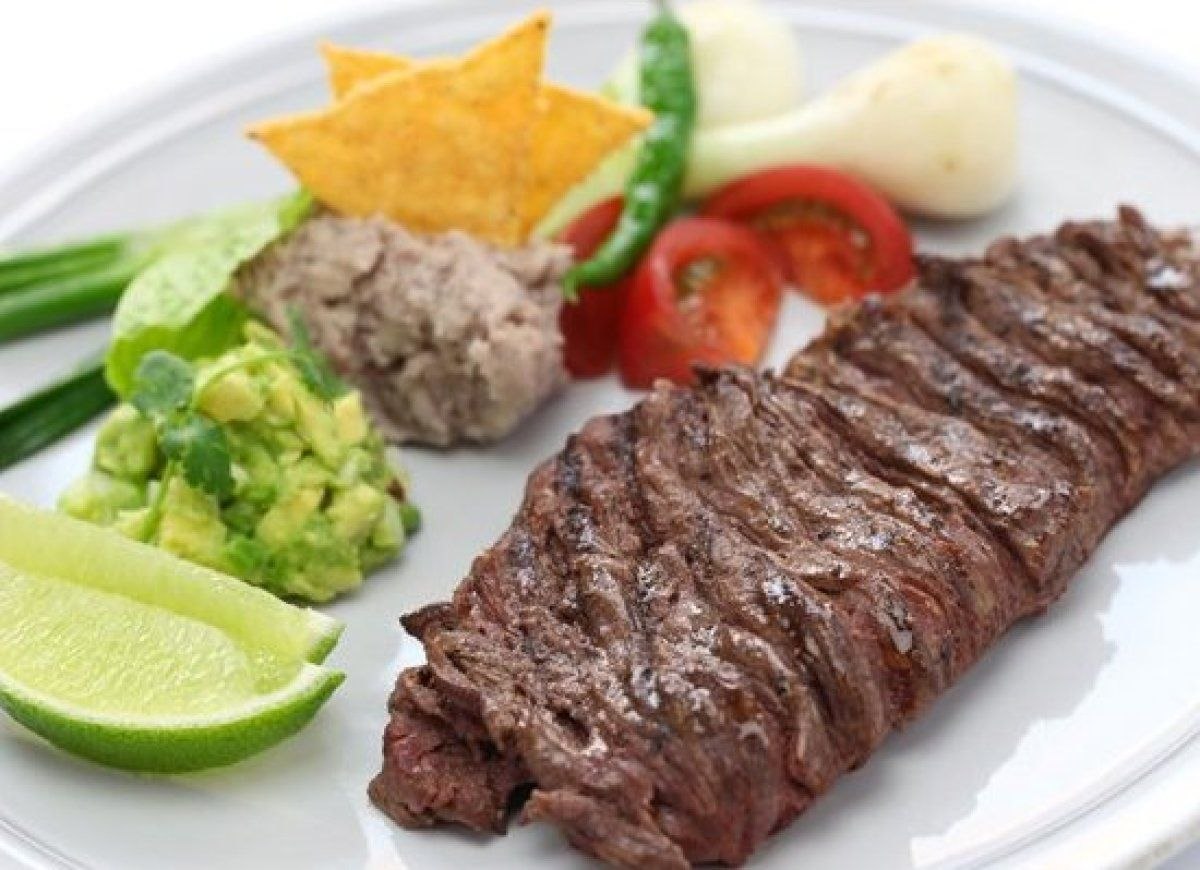 Mexican: Beef with avocado