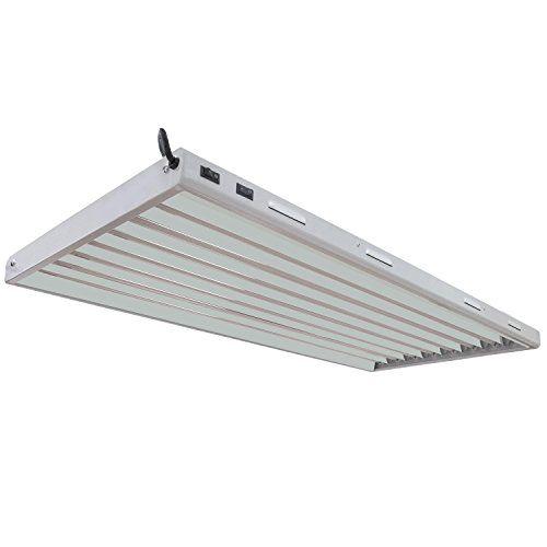 Cheap Vivosun 4ft 8 Lamp T5 Ho Fluorescent Grow Light Fixture Ul Listed High Output Fluorescent Tubes With Images Grow Light Fixture Indoor Grow Lights Grow Lights