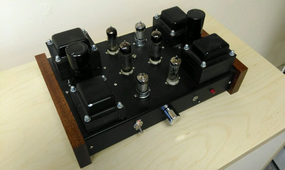 Aikido preamp | Circuits | Valve amplifier, Electronic kits