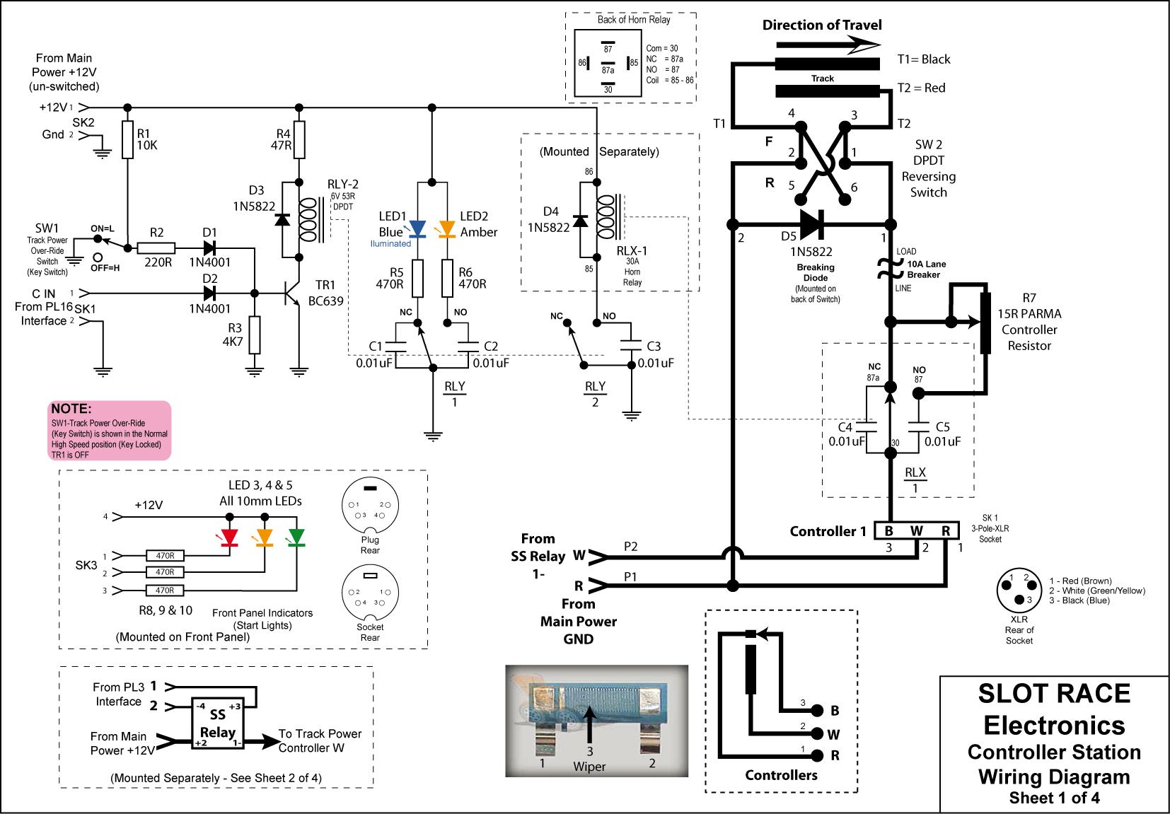 circuit diagram difalco controller