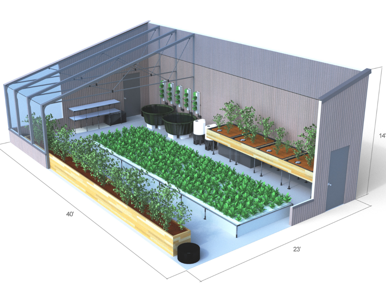 Passive Solar Greenhouse Design Course Reap Abundant Harvests Year