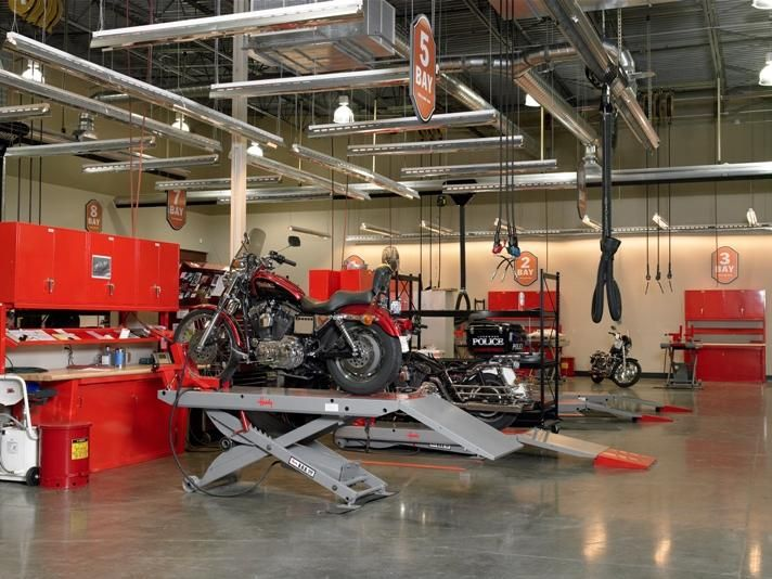 Motorcycle Shop Layout Images