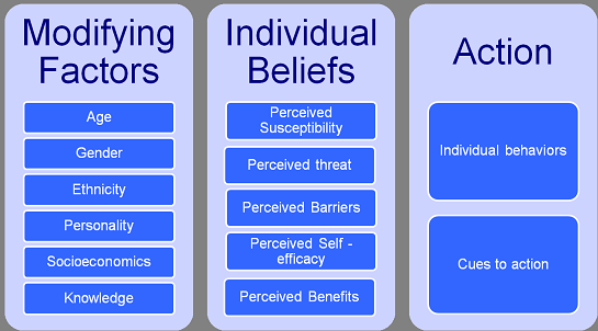 The Health Promotion Model Illustrates How Health Related Behaviors