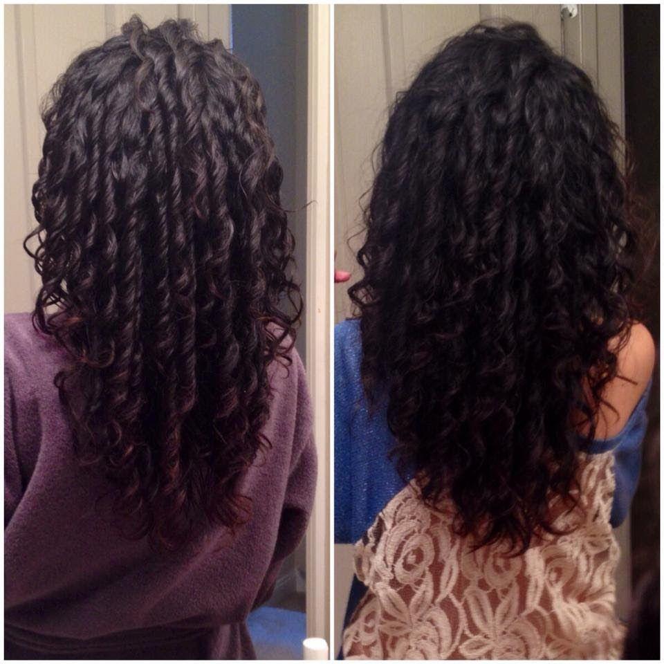 Boucle Anglaise Sans Chaleur Cheveux Crepus | Coiffures Cheveux Longs