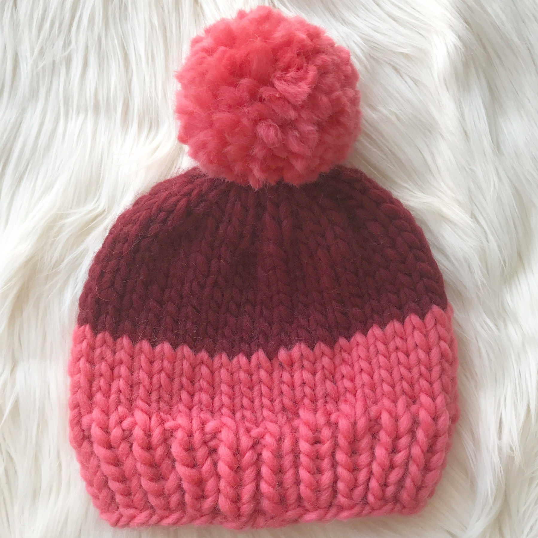 Welcome to my pattern for a super simple chunky beanie. This pattern ...
