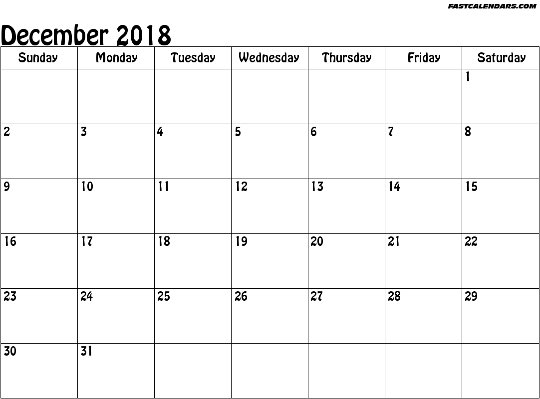 Blank 2018 Calendar Weekly Calendar Template News To Go 2