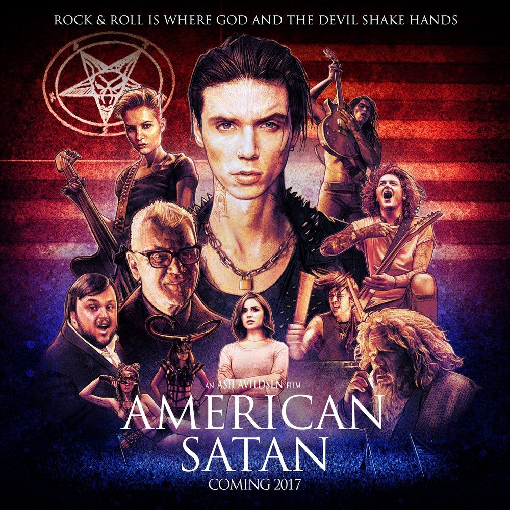 Official American Satan Movie Poster  'Rock and Roll is