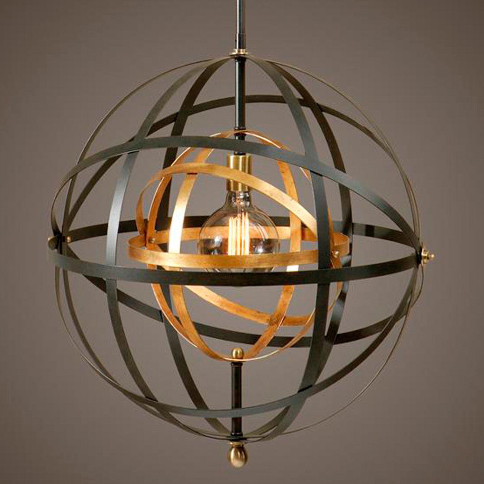 Image Result For Two Tone Orb Light Chandelier Pendant Lighting