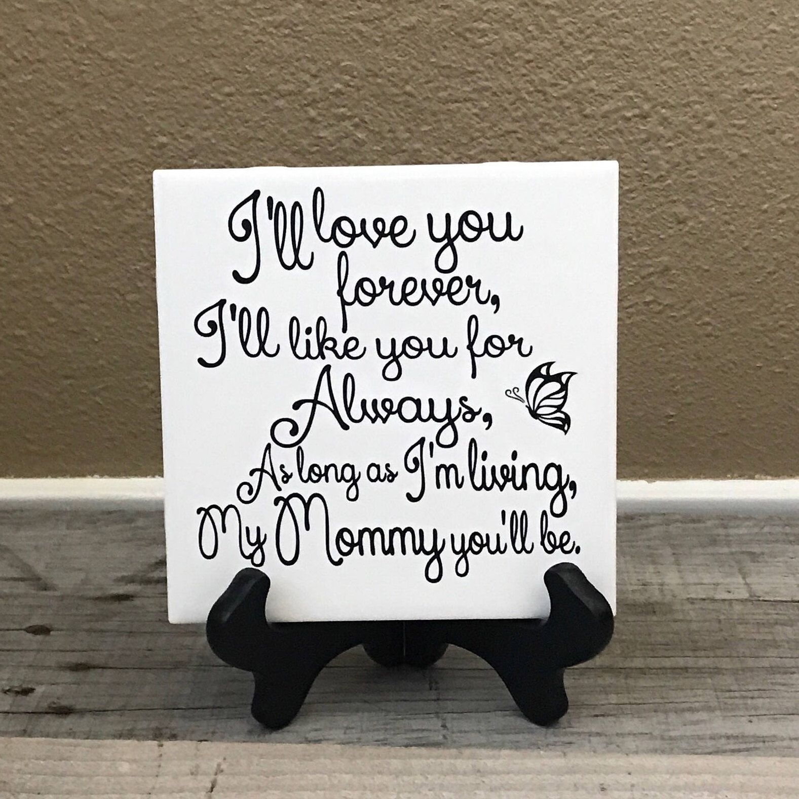 Excited To Share This Item From My Etsy Shop Personalized Gift For Her Gifts Mom Mother Of The Bride Birthday Decorative Tile