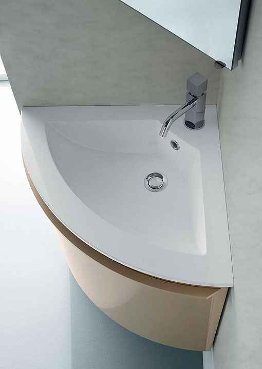 lavabos para baños pequeños (4) baños Pinterest