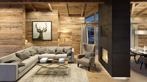 Modern Chalet Scandinavian Country Style Alpine Style Furniture Country Style De Alpine Ch Cottage Interiors Ski House Decor Country Style Living Room