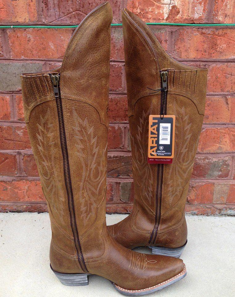 Ariat Murrieta Distressed Brown Boots