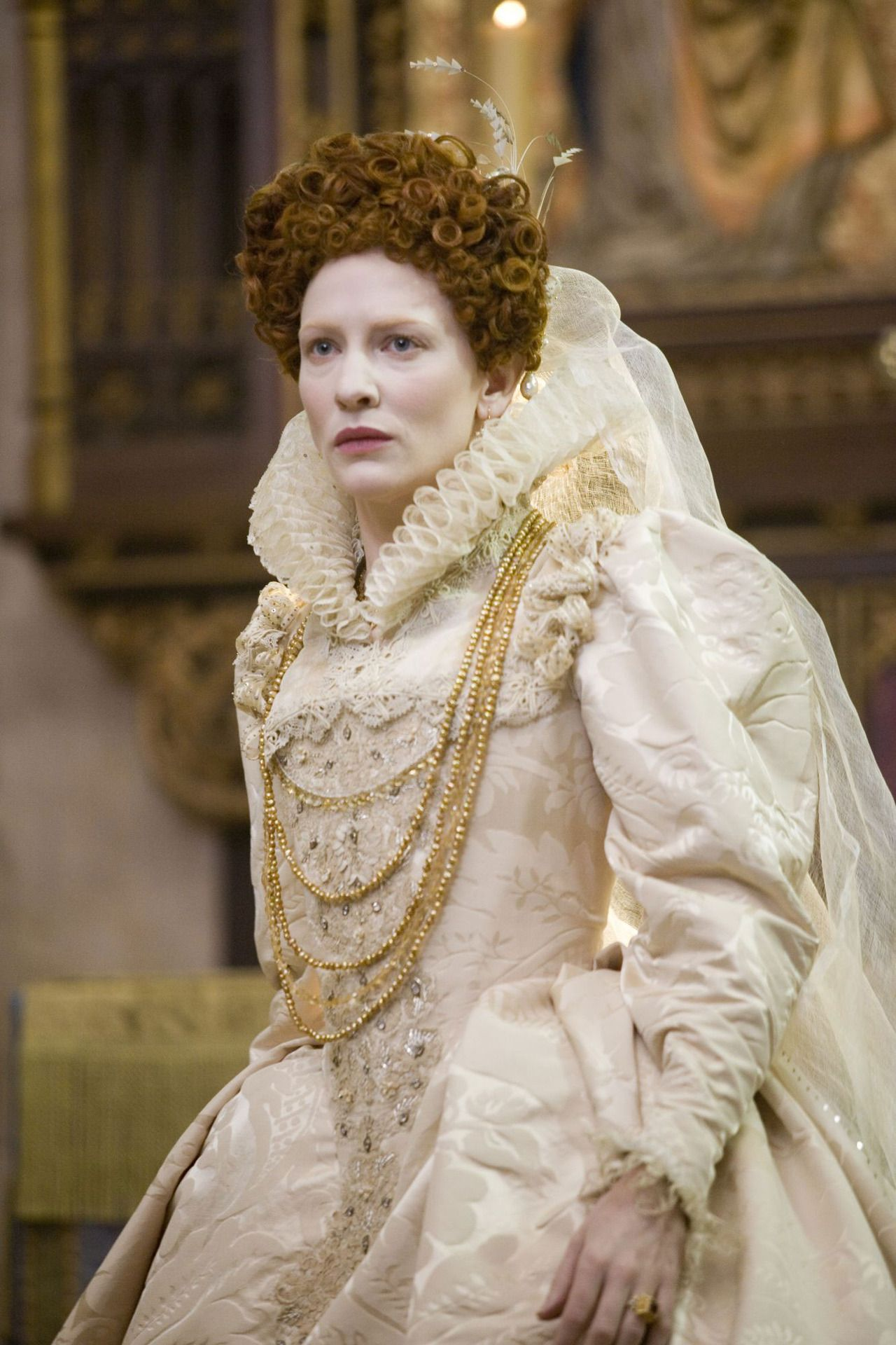 "Cate Blanchett as Queen Elizabeth I in ""Elizabeth The"