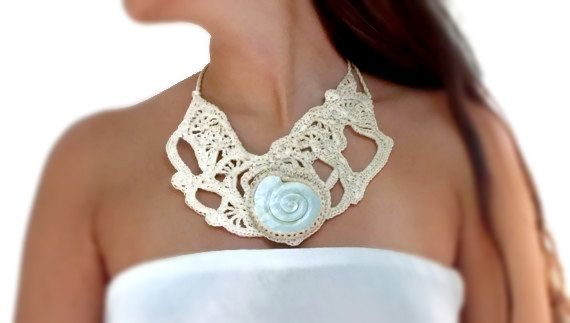 Oak Gall Necklace with spiral