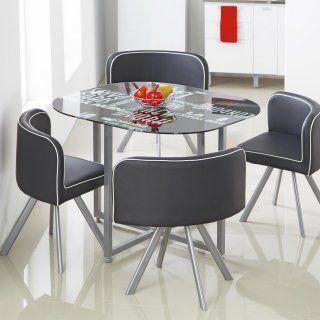 Set Pizza Mesa Estampada 4 Sillas Easy Colombia Furniture