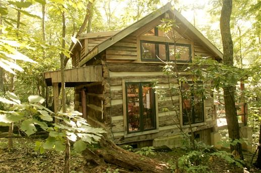 Pet Friendly, The Strong Wolf Log Cabin In Hocking Hills, Is A Travelers  Favorite