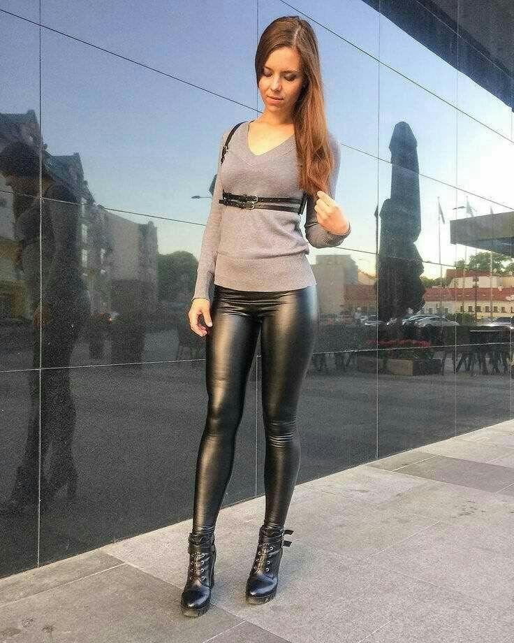 4cca020b3724f1 Lederlady ❤ Wet Look Leggings, Shiny Leggings, Leggings Are Not Pants,  Leather Trousers