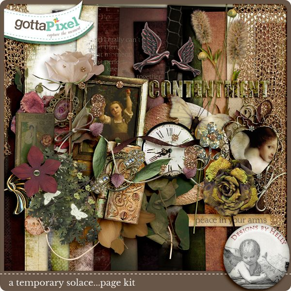 A Temporary Solace :: Gotta Pixel Digital Scrapbook Store by Designs by Helly $5.50