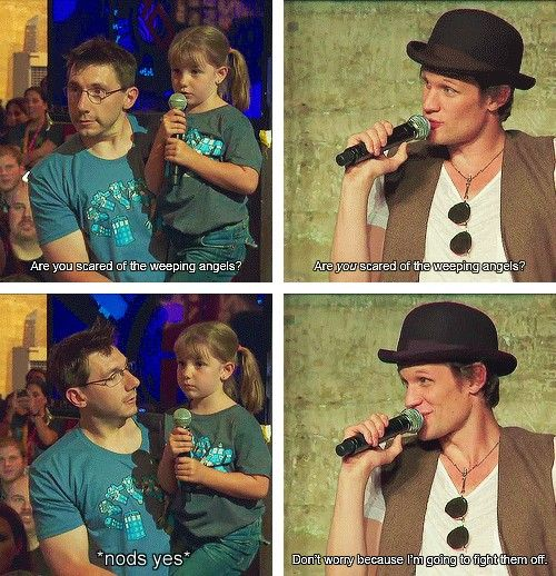 omg matt smith that is adorable