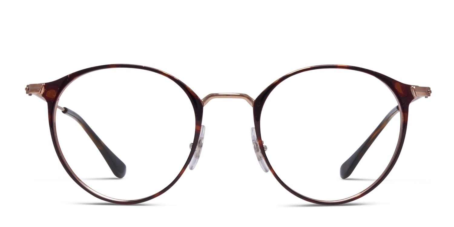 The Ray Ban 6378 Is A Roundish Frame For The Well Rounded Type
