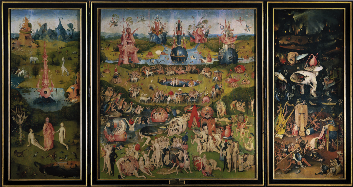 Hieronymus Bosch The Garden of Earthly Delights 1505   A R T _ ...