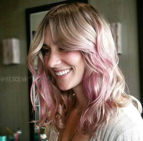 40 Ideas of Pink Highlights for Major Inspiration ...