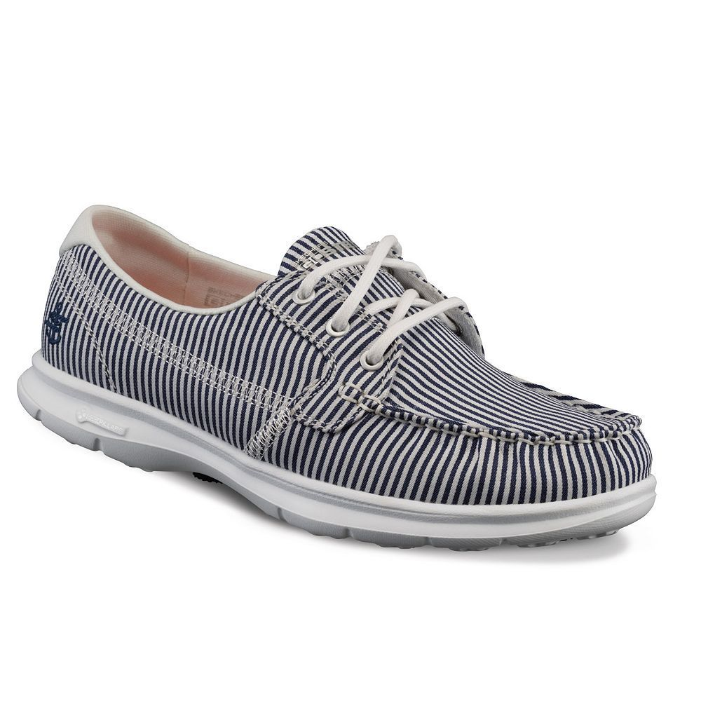 skechers on the go women's boat shoes