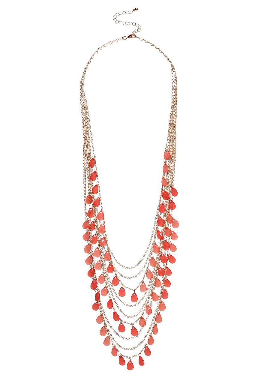 Maurices Seed Bead Necklace XQhluZZYrg