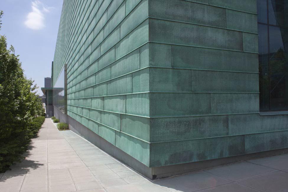 Copper Cladding Facade Cladding Architecture Exterior Rainscreen Facade
