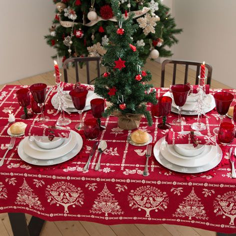 RED DOVE TABLECLOTH AND NAPKINS - Tablecloths \u0026 Napkins - Tableware | Zara Home United States & RED DOVE TABLECLOTH AND NAPKINS - Tablecloths \u0026 Napkins - Tableware ...