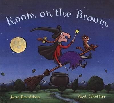 """Room On The Broom"" is another fantastic rhyming tale all about sharing from the creators of The Gruffalo. Like all Julia Donaldson books, this is enjoyable for both kids and adults."