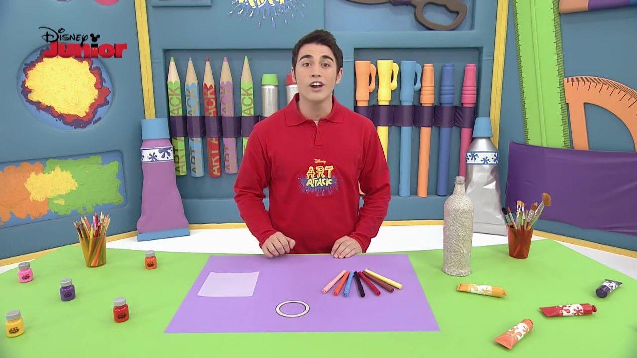 Disney junior espa a art attack telescopio trabajos educativos pinterest arte para ni os - Manualidades art attack ...