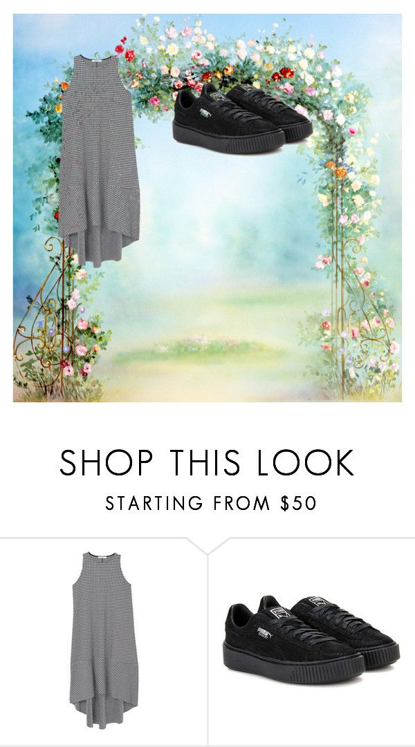 """Sin título #2386"" by albamor ❤ liked on Polyvore featuring MANGO and Puma"