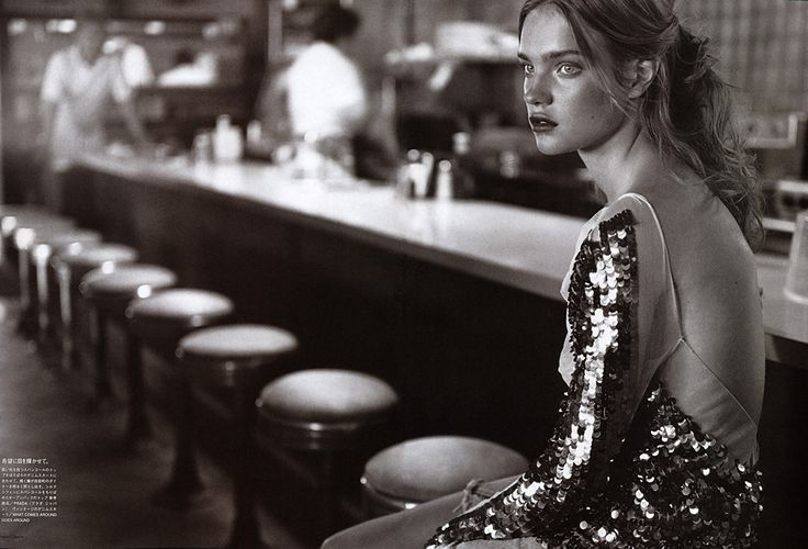 Natalia Vodianova for Vogue Nippon by Carter Smith, 2002