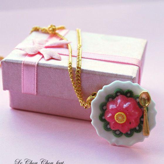 Fruit Jelly pendant - limited edition | ph.:  Veronica Vitale |  www.lechouchou.it