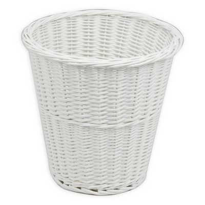 Waste Paper Baskets wicker waste paper basket - to use for quick nappy changes