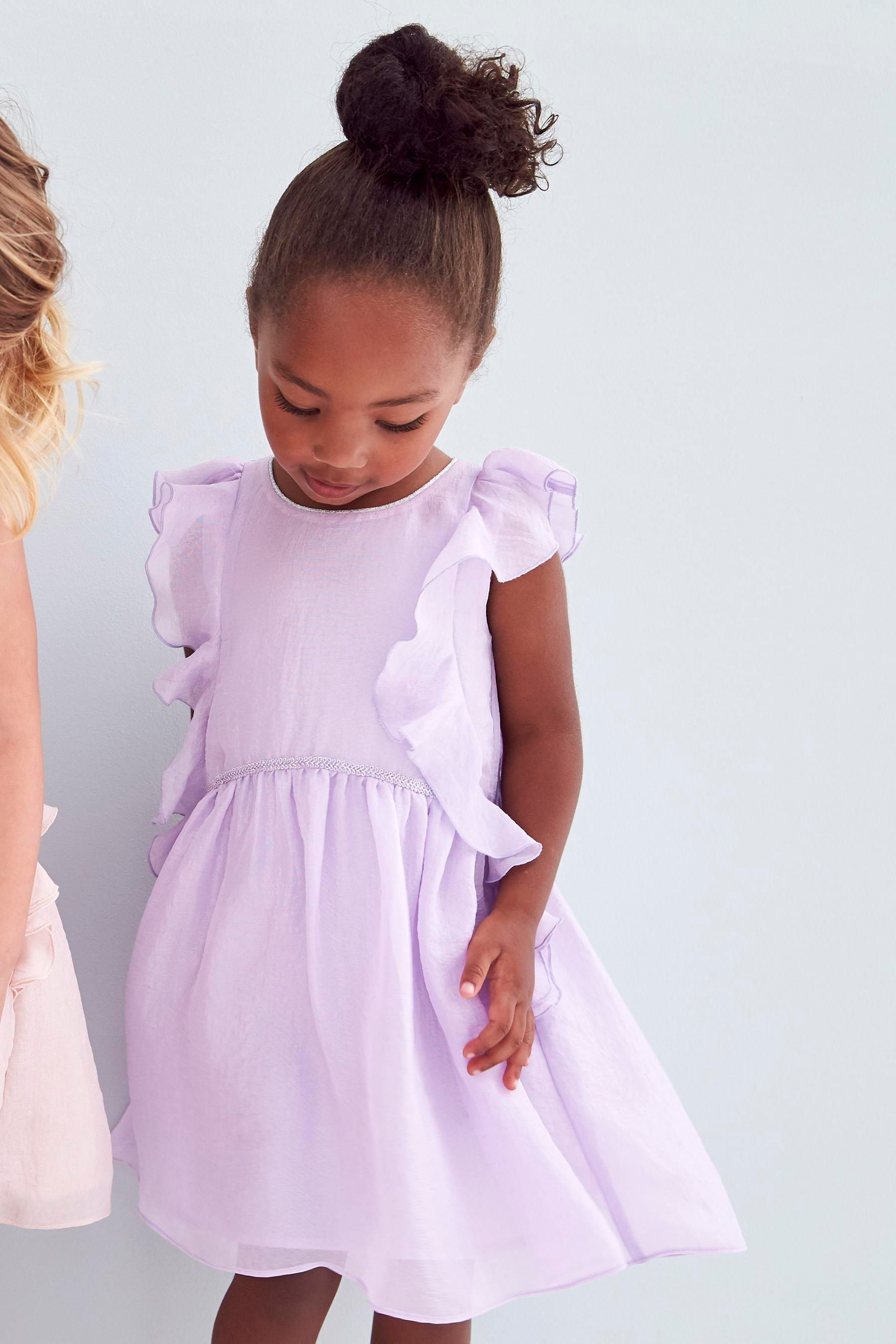 c742b6334 Buy Lilac Frill Party Dress (3mths-6yrs) from the Next UK online ...