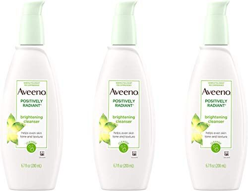 Photo of Buy Aveeno Positively Radiant Brightening Facial Cleanser  S…