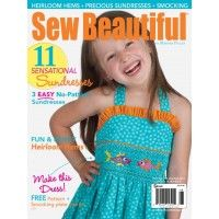 Sew Beautiful 143 Digital Download Martha Pullen Sewing Baby Clothes Childrens Sewing Patterns Little Girl Skirts