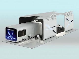 """Arcos Stand design Fankfurt  """"Ambiente 2010"""""""