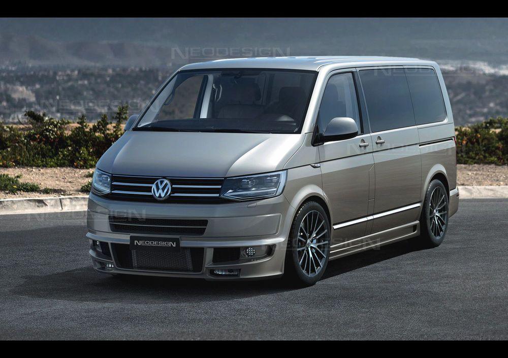 VW T6 Komplettvers Spoiler Set Body Kit Tuning Umbau neu Verbau #exoticcars